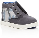 Toms Boys' Paseo Camo Print High Top Sneakers - Walker