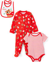 Rashti & Rashti Red Rudolph Bodysuit Set - Infant