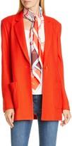 St. John Diagonal Twill Knit Jacket