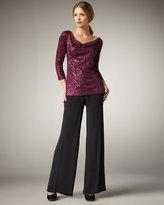 Eileen Fisher Silk Wide-Leg Pants, Women's