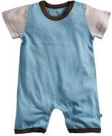 Baby Soy Modern Romper - Ocean - 3-6 months