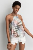 American Eagle Outfitters AE Hi-Neck Swing Tank
