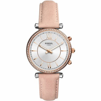 Fossil Women's Hybrid Connected Smartwatch with Leather Strap FTW5039