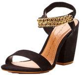 Moda In Pelle Larez Suede Chain Heel Sandals