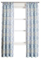 Nobrand No Brand Daphne Paisley Heathered Print Curtain Panel Lapis