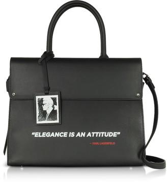 Karl Lagerfeld Paris Legend Ikon Top Handle