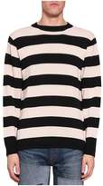 Junya Watanabe Cotton Striped Sweater