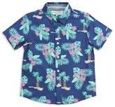 Sovereign Code Boys' Tropical Print Shirt - Big Kid