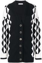 J.W.Anderson geometric knit cardigan