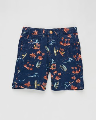 Scotch Shrunk All-Over Printed Chino Shorts - Teens