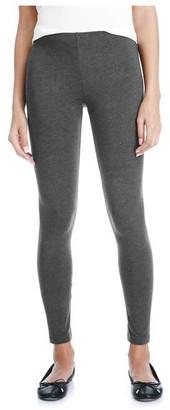 Joe Fresh Women's Essential Melange Legging, Charcoal Mix (Size XS)