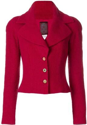 John Galliano Pre-Owned Wide Lapels Jacket