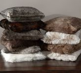Pottery Barn Faux Fur Pillow Cover