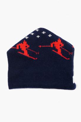Gents Harding Lane Navy Wool Apres Ski Hat