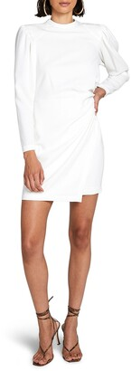 A.L.C. Jane Long Leg-of-Mutton Sleeve Minidress