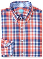 J.Mclaughlin West End Trim Fit Shirt in Check
