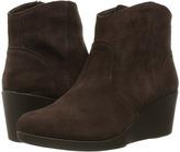 Crocs Leigh Suede Wedge Bootie Women's Boots