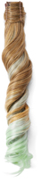 Hairdo. by Jessica Simpson & Ken Paves Buttered Toast & Light Green Wavy Ponytail Hair Extension