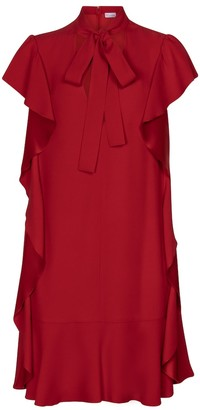 RED Valentino crepe minidress