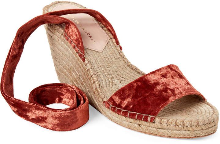 4205591cf26 Brique Harper Espadrille Wedge Sandals