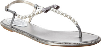 Rene Caovilla Eliza Leather Sandal