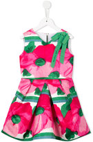 Mi Mi Sol - floral print dress - kids - Polyester - 6 yrs