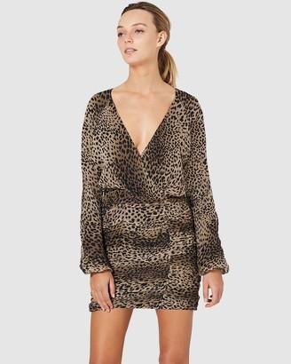 Stevie May New Light LS Mini Dress