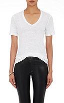 Etoile Isabel Marant Women's Kranger V-Neck T-Shirt-WHITE
