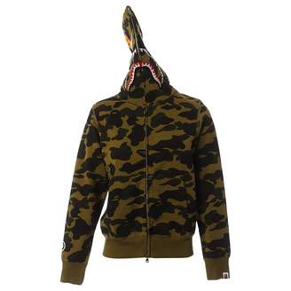 A Bathing Ape Khaki Cotton Knitwear