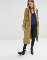 MANGO Soft Trench Coat