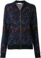 Chloé floral bomber jacket - women - Cotton/Polyamide/Spandex/Elastane - S