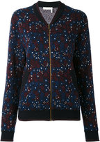 Chloé floral bomber jacket - women - Cotton/Polyamide/Spandex/Elastane - XS