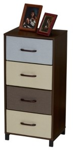 Household Essentials 4-Drawer Modular Storage Chest Stand