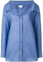 Simon Miller striped oversize shirt