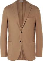 Boglioli - Brown Slim-fit Cotton-canvas Blazer