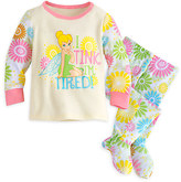 Disney Tinker Bell Footed PJ PALS for Baby