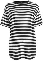 Topshop Maternity bold striped t-shirt