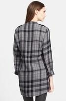 Burberry Plaid Check Tunic Shirt