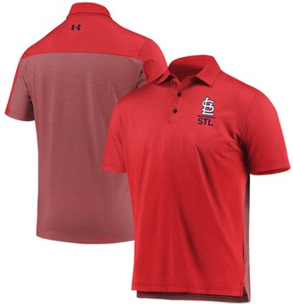 Under Armour Men's Red St. Louis Cardinals Novelty Performance Polo