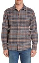 Prana Men's Brayden Regular Fit Plaid Flannel Shirt