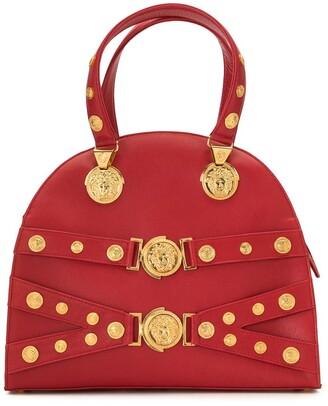 Versace Pre-Owned Medusa studded bag