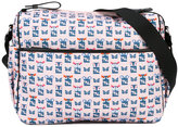 Fendi owl print changing bag