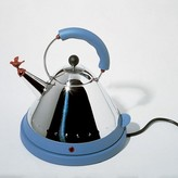 Alessi Michael Graves Electric Kettle Blue