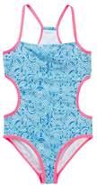 Jantzen Neo Nautical Maze Print Monokini (Big Girls)