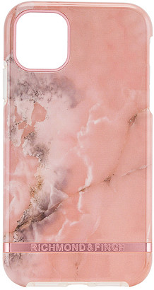 Richmond & Finch Pink Marble iPhone 11 Case