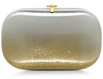 JEFFREY LEVINSON Elina Plus Ombre Glitter Clutch