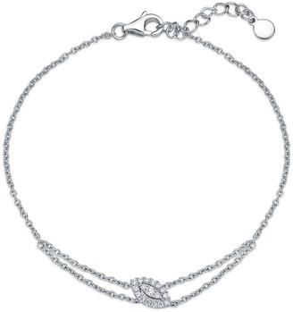 Memoire Stack 'Em Up 18K 0.10 Ct. Tw. Diamond Bracelet