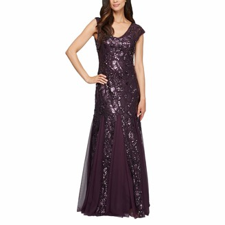 Alex Evenings Women's Long Sequin Dresses