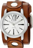 Nemesis Women's 065BGBS Roman Series Analog Display Japanese Quartz Brown Watch