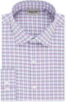 Kenneth Cole Reaction Men's Slim-Fit Flex Collar Three-Way Stretch Performance Check Dress Shirt